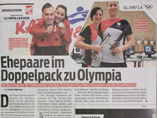 Ehepaare im Doppelpack zu Olympia