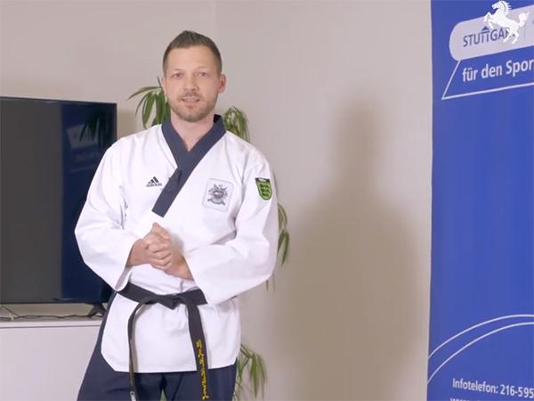 sport@home - Taekwon-Do mit Dirk