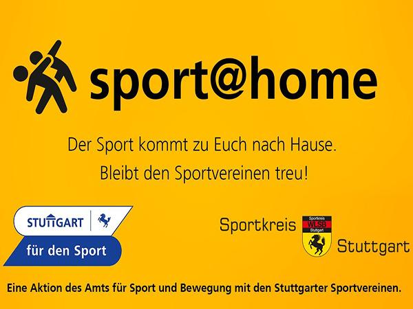 Aktion sport@home mit den Stuttgarter Sportvereinen