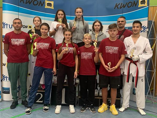 9 Medaillen bei der Bavaria Open in München